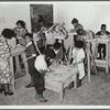 Children's sculpture class, Harlem Community Art Center