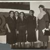 Gwendolyn Bennett, Sara West, Louise Jefferson, Augusta Savage, Eleanor Roosevelt