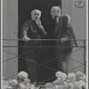 Arturo Toscanini and Ernest Ansermet on the balcony at Tribschen-Lucerna