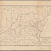 Observed path of meteor of Christmas Eve Dec. 24th 1873: over a part of the United States of America
