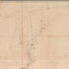 Sketch A, shewing the progress of the survey in section no. 1, from 1844 to 1851: [New England coast]