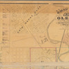 Map of Olean, New York