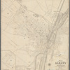 Map of the Cities of Albany and Rensselaer and portions of Bath and East Greenbush, New York