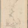 Sketch A, shewing the progress of the survey in section no. 1, from 1844 to 1854: [New England coast]