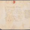 Memorandum to Gen. Henry Knox