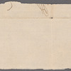 Clipped signature from a letter by Washington