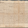 Deed for land in Washington Parish, Westmoreland County, Virginia