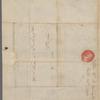"Martha Washington letter to ""My Dear Fanny"""