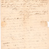 George Washington Parke Custis letters and writings