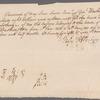 John Augustine Washington signed receipt