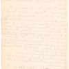 Letter from Joseph Washington to Mabel T.R. Washburn of the Journal of American History