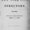 New York City directory, 1883/84