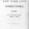 New York City directory, 1884/85