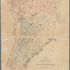 Map of the manors erected within the county of Westchester: compiled from the manor grants and ancient m[aps]