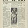 Caliban News publicity document