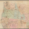 National map of the territory of the United States from the Mississippi River to the Pacific Ocean: made by the authority of the Hon. O.H. Browning, Secretary of the Interior, in the office of the Indian Bureau, chiefly for government purposes...