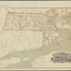 Map of the railroads of the state of Massachusetts: accompanying the report of the Railroad Commissioners