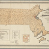 Educational map of the state of Massachusetts