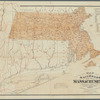 Map of the railroads of the state of Massachusetts: accompanying the report of the railroad commissioners, 1879