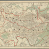 Map of Cambridge and Somerville: Massachusetts
