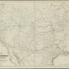Map of the territory of the United States from the Mississippi River to the Pacific Ocean: prepared particularly to show the route adopted for the (Memphis, El-Paso and Pacific or) Southern Trans-Continental R.R. and its branch to the port of Guaymas in northern Mexico