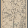 [Map of the Hudson River] prepared for Taintor's guide books: [showing the full length of the Hudson River from Monmouth County, N. J., to Montreal, Canada]