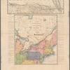Carte pour servir à l'itinéraire pittoresque du fleuve Hudson et des parties latérales de l'Amerique du Nord
