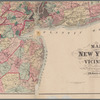 Map of New York and vicinity: accompanying Atlas of Westchester County