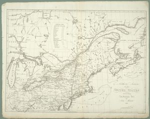 Northern section of the United States including Canada &c.
