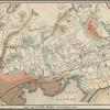 Map of Lynn, Mass: (Diphtheria, 1876)