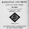 New York City directory, 1909/10