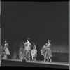 [B3-1] Chita Rivera and chorus in the stage production West Side Story
