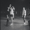 [B3-22A] Dancers rehearsing for the stage production West Side Story