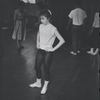 [B3-22A] Unidentified actress in rehearsal for the stage production West Side Story