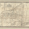 Map of the rail roads of the state of New York
