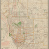 The Matthews-Northrup up-to-date map of Buffalo and towns of Tonawanda, Amherst, Cheektowaga and West Seneca