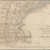Map of Maine, New Hampshire, Vermont, Massachusetts, Rhode Island, and Connecticut: exhibiting the post offices, post roads, canals, rail roads, &c.