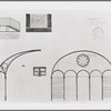 Oliver Smith set design (gym scale drawings) for the stage production West Side Story