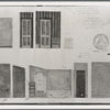 Oliver Smith set design (Maria's bedroom scale drawing) for the stage production West Side Story