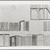 Oliver Smith set design (various scale drawings) for the stage production West Side Story