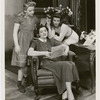 Lenore Lonergan, Vera Allen, and Katharine Hepburn in the stage production The Philadelphia Story