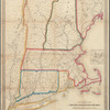 Railroad map of New England & eastern New York: compiled from the most authentic sources