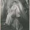 """Actress Beatrice Robinson-Wayne as St. Teresa I in the theatrical production """"Four Saints in Three Acts,"""" 1934"""
