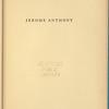 Jerome Anthony