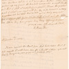Letter from his daughter Elizabeth Schuyler Hamilton
