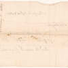 Bill of sale to Miss Schuyler