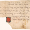 License to Samuel B. Malcom to practice as a solicitor before the Court of Chancery, New York