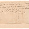 Order to Captain Richard Varick from Philip Schuyler