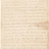 Letter from Philip Schuyler to James Duane