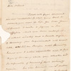 Letter from Philip Schuyler to his nephew John C. Schuyler